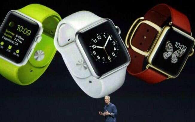 Desempenho de vendas do iWatch, aposta mais recente da Apple, ainda é uma incógnita