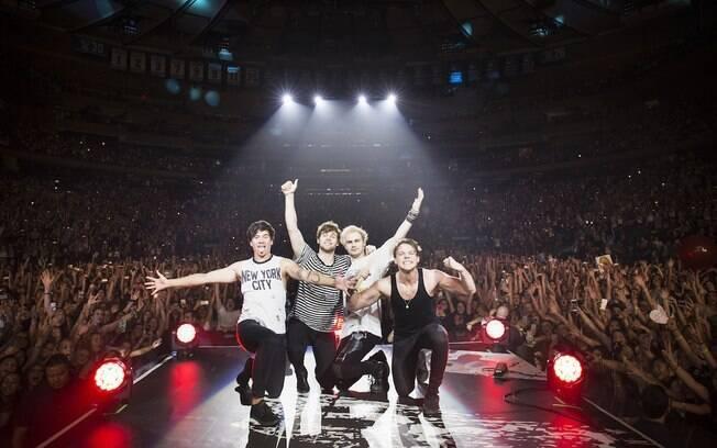 5 Seconds Of Summer é uma das bandas que emergiu no mundo pop graças à internet