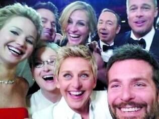 Selfie durante a última cerimônia do Oscar é uma das mais comentadas atualmente