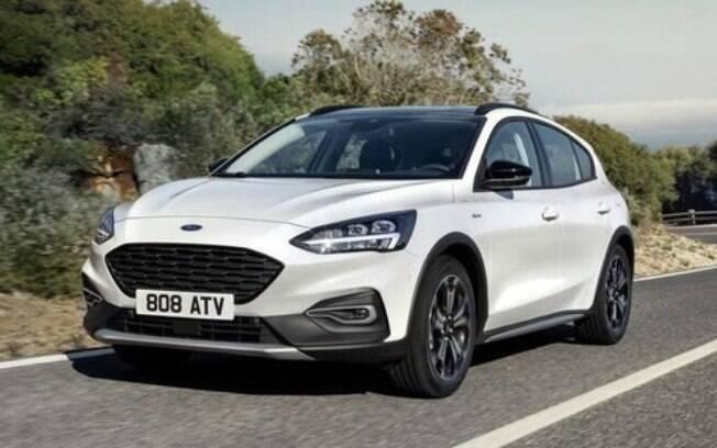 O crossover Focus Active deve  ser a novidade da Ford na sua linha de carros médios