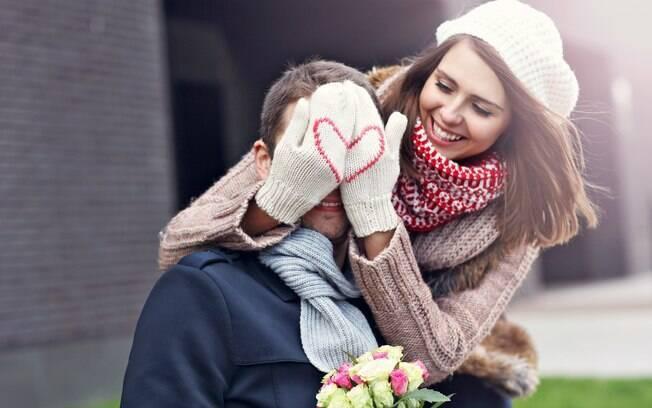 O Valentin's Day é a data para se declarar e as flores podem ajudar nisso