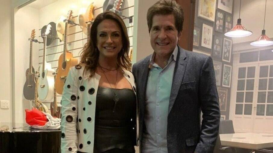 Claudia Tenório e Daniel