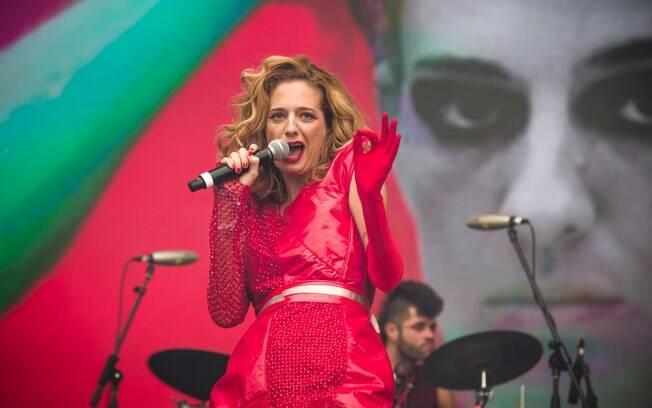 Letrux politizou em seu show no Lollapalooza