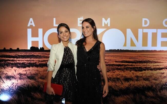 Carolina Ferraz e a filha, Valentina