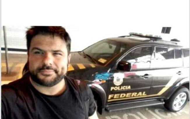 Daniel tirava fotos em frente a viaturas da polícia e publicava nas redes sociais