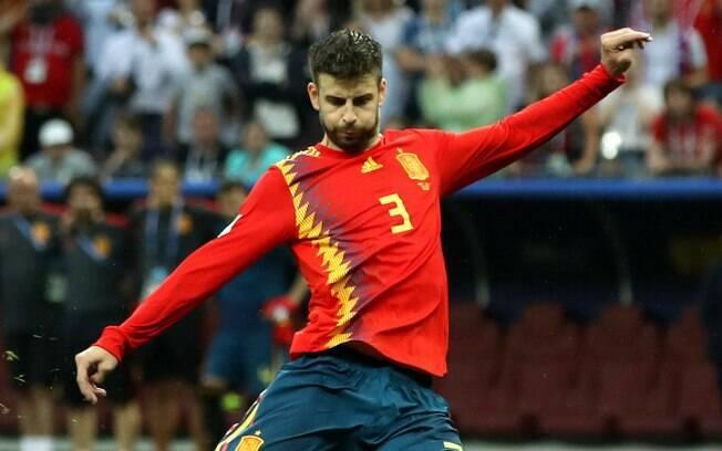 Piqué disputou mais de 100 jogos com a seleção espanhola e conquistou dois títulos