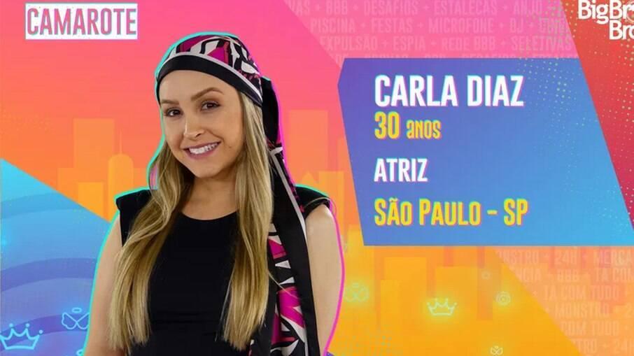 Carla Diaz estará no