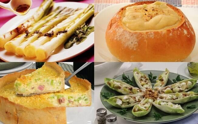 Elabore refeições magníficas usando o alho-poró como prato principal