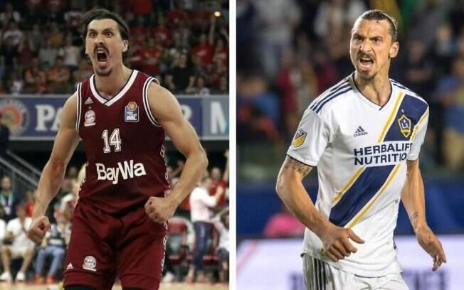 Nihad Djedovic e Zlatan Ibrahimovic