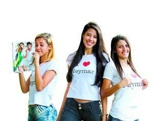 Fãs de Neymar assumem o amor pelo ídolo e fazem loucuras pelo jogador