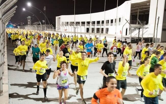 A Night Run acontece em várias cidades do  país