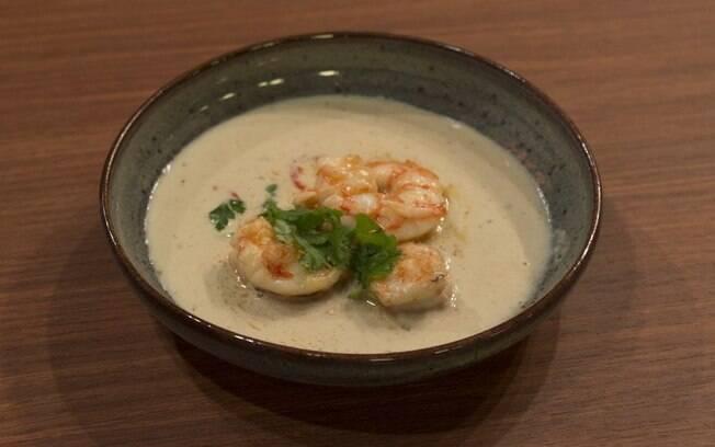 camarão ao molho tailandês