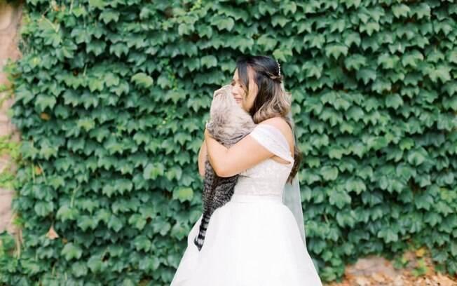Gato e noiva