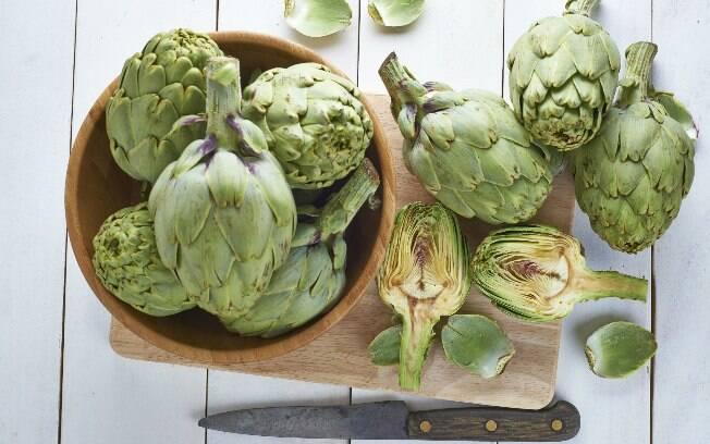 Alcachofra é outro alimento rico em enxofre. Foto: Thinkstock
