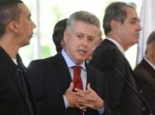 Rodrigo Rollemberg, governador eleito do DF, no dia em que anunciou os nomes dos futuros secretários