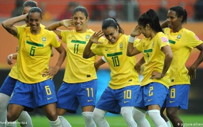 Meninas da seleção feminina do Brasil ajudaram na criação do novo uniforme