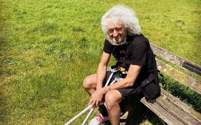 Brian May relata acidente que sofreu