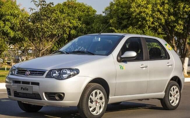 Fiat Palio em sua versão Rua, que comemorava a Copa do Mundo de 2014