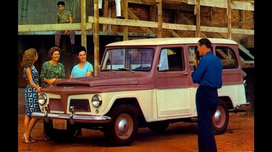 A Rural Willys foi um dos primeiros SUVs que apareceram no mercado, primeiro nos EUA, em meados da década de 40
