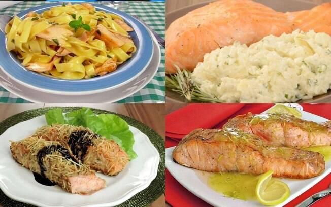 4 receitas de salmão para uma refeição leve e sofisticada