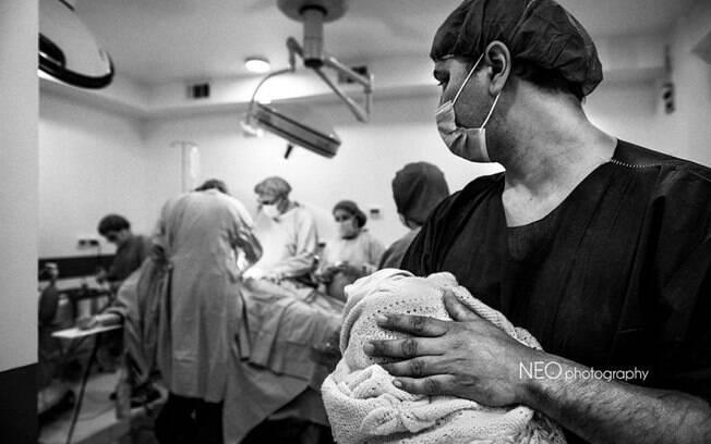 Fotos de parto, pós-parto e gravidez: