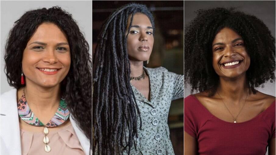 Jaqueline Gomes de Jesus, Erica Malunguinho e Jarda Araújo falam sobre feminismo trans