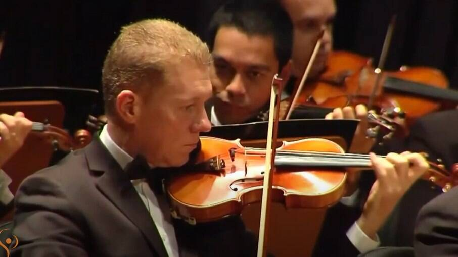 Orquestra Sinfônica de Campinas fez homenagem ao hino nacional.