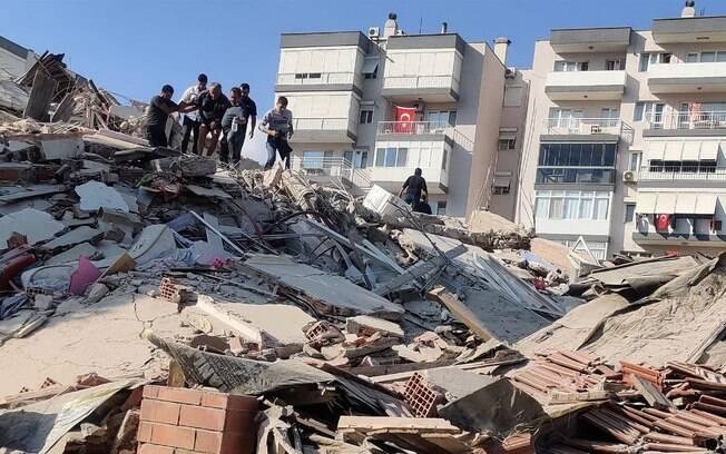 Terremoto atingiu a Grécia e a Turquia