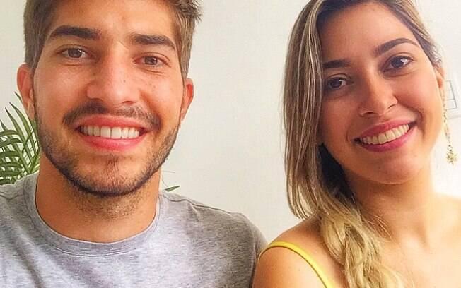 Lucas Silva e a irmã. Foto: Reprodução