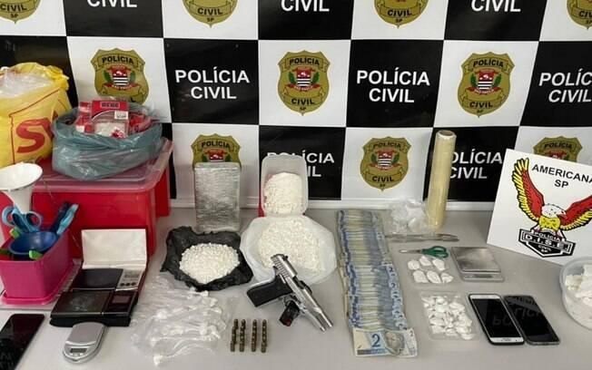 Operação contra tráfico de drogas prende duas pessoas em Americana