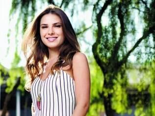 Dedicação. Para viver a protagonista da novela, Thaís passou semanas no Jockey Clube, no Rio
