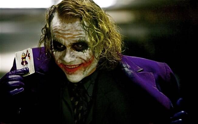 O vilão de Batman, Coringa.