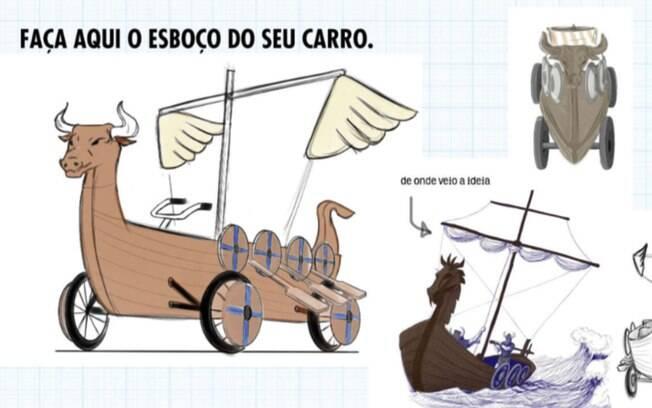 O 'Flokis Boat' é um dos projetos aprovados para a corrida maluca de São Paulo