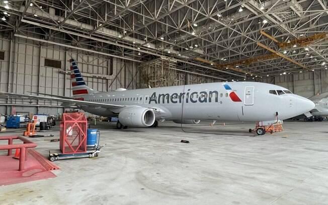 American altera tinta usada na pintura de suas aeronaves
