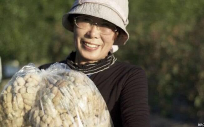 A coordenadora da ONG The People, Kaoru Kanabe
