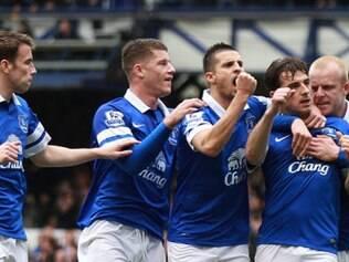 Everton mantém vivo seu sonho de chegar à Liga dos Campeões da Europa