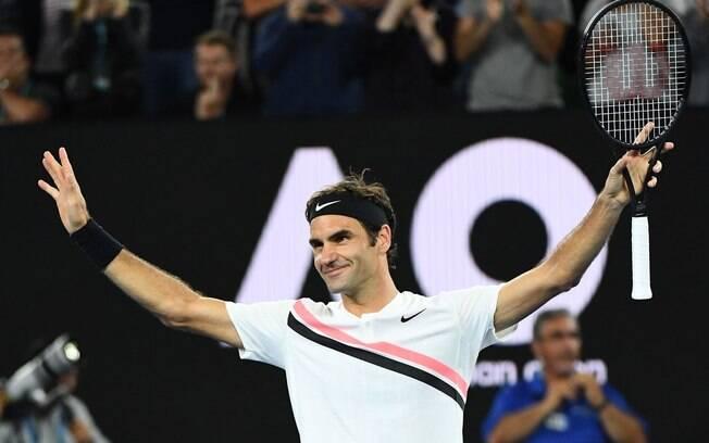 Roger Federer venceu Berdych e se garantiu na semifinal do Aberto da Austrália pela 14ª vez em 15 anos