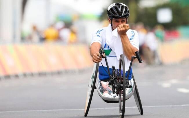 Alex Zanardi, uma das grandes estrelas dos Jogos do Rio
