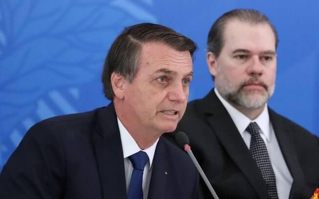 Bolsonaro elogia Toffoli após café da manhã com presidente do STF