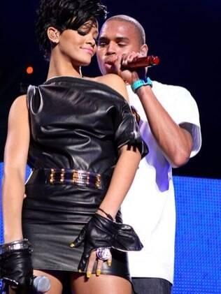 Rihanna e Chris Brown: relação tumultuada