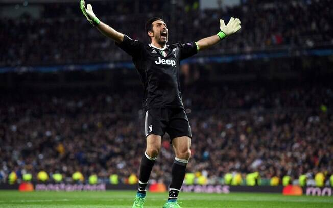 Buffon Real Madrid x Juventus