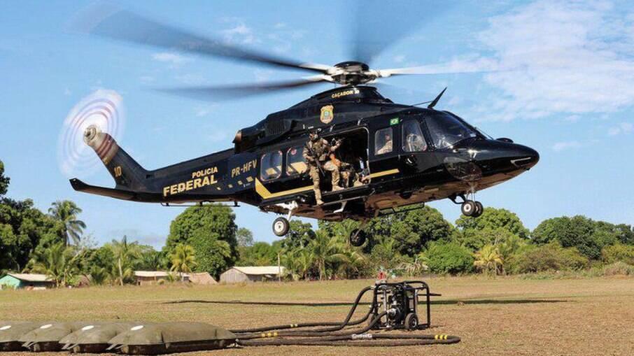 Polícia Federal realiza operação em terras indígenas