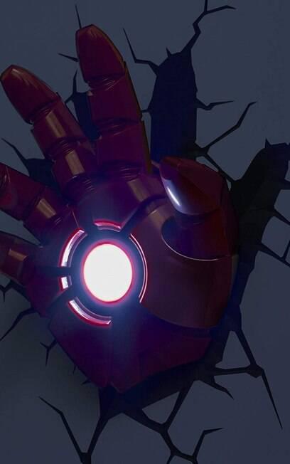 Luminária geek