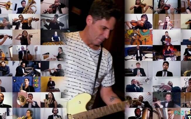 Orquestra de Artur Nogueira grava homenagem a Eddie Van Halen