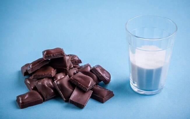 Em uma barra de 170 gramas de chocolate ao leite há 61 gramas . Foto: Edu Cesar