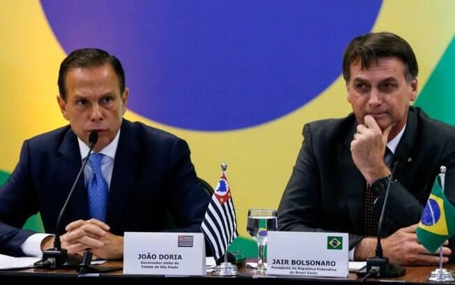 Bolsonaro: SP dá péssimo exemplo ao elevar impostos