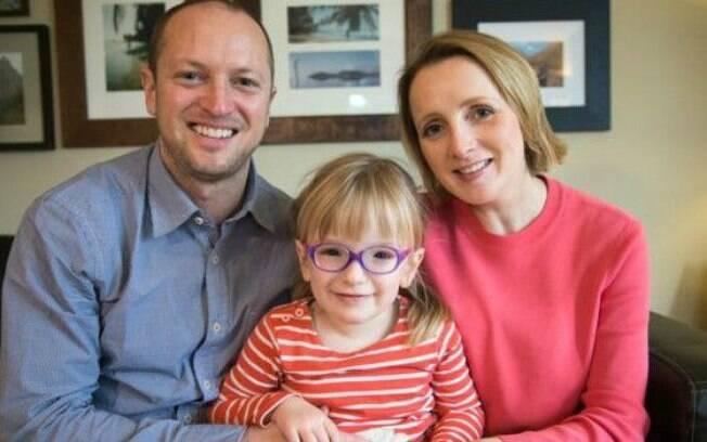 Para os pais de Georgia, finalmente ter um diagnóstico foi o 'dia mais importante de suas vidas'