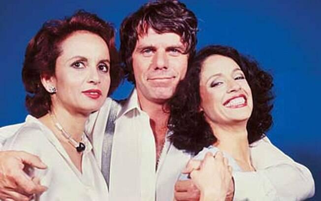 Joana Fomm, Reginaldo Faria e Sônia Braga em