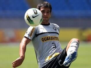 Jogador espera que o Botafogo mantenha a  boa fase, agora no Brasileiro