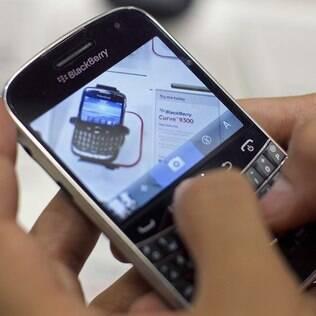 Aparelhos BlackBerry também estão entre os alvos de vírus